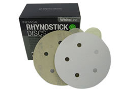 "5""-5 Hole 600-C Rhynalox Sticky Discs 51-600 - Click Image to Close"