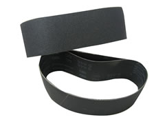 "3"" x 21"" 80x Silicon Carbide Belts for Glass, Corian, Stone and Rubber SC105-080"