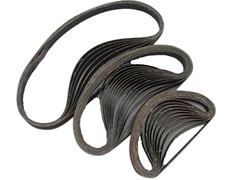 "3/4"" x 20-1/2"" 40x Aluminum Oxide Filing Belt 00137-040 - Click Image to Close"