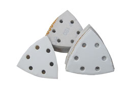 Hook & Loop Abrasive Tri Discs For Bosch 70839