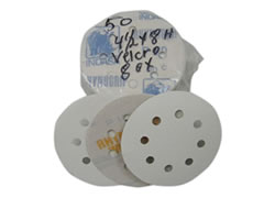 "4-1/2""-8 Hole 400-C Rhynogrip Hook & Loop Discs 01855 - Click Image to Close"