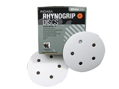 "5""-5 Hole 40-D RhynoGrip Hook & Loop Discs 01841 - Click Image to Close"