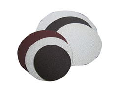 "8"" White Non-Loading Cloth Sticky Discs 50218"