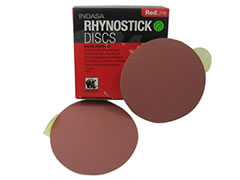 "6"" Solid 40-D Red Line Sticky Discs 01789"