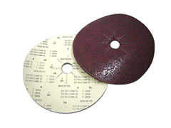 "16"" x 2"" 40 grit Slotted Silicon Carbide Floor Sanding Discs FO525"