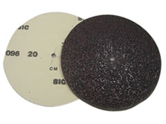 "7"" x 5/16"" 16 grit Slotted Edger Discs FO210"