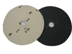 "7"" x 7/8"" 50 grit Slotted Edger Discs FO256 - Click Image to Close"