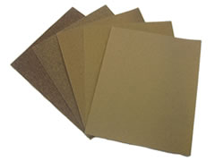 100 pk 9x11 120-C Aluminum Oxide Cabinet Paper Sheets 30625 - Click Image to Close