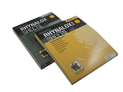 100 pk 9x11 180A Premium Rhyno Sheets Aluminum Oxide Non-loading Paper Sheets 30656 - Click Image to Close