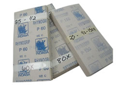 100 pk 180-C 1/2 Sheet Rhynogrip Hook and Loop Finishing Sheets 20593 - Click Image to Close