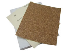 100 pk 9x11 180-A Garnet Paper Sheets 30648 - Click Image to Close