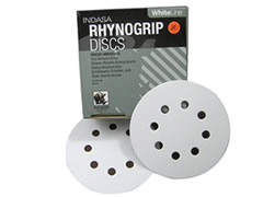 "5""-8 HOLE RHYNOGRIP HOOK & LOOP DISCS"